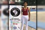 محمد منتصر عفيفي يحرز ٥ ميداليات ذهبية ببطولة أفريقيا للجمباز