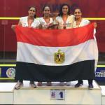 منتخب مصر للإسكواش سيدات يفوز ببطولة العالم
