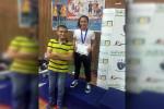نور ابو ليلة تحقق المركز الثاني في كأس مصر لسلاح الشيش