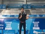 محمد منتصر يحقق برونزية أولمبياد الناشئين في الجمباز