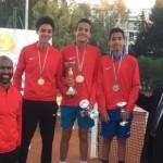 عمر ياقوت يحرز المركز الثالث ببطولة تصفيات شمال أفريقيا للتنس