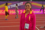 لينا عمرو جابر تحرز المركز الرابع  ورقم مصري جديد ببطولة البحر المتوسط لألعاب القوى