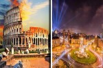رحلة إلى روما و برشلونة فى عيد الأضحي