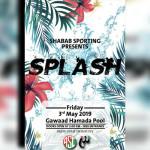 مهرجان مائي بحمام سباحة جواد حمادة الجمعة ٣ مايو
