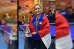 تنس طاولة | سارة إبراهيم تفوز بميدالية ذهبية وأخرى برونزية ببطولة أفريقيا للمنتخبات