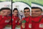 تألق نور حسين وصلاح خيري مع المنتخب الوطني بالبطولة العربية للتايكوندو