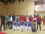 فريق سبورتنج للجمباز الفني رجال يحصل على المركز الثالث ببطولة الجمهورية