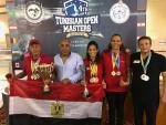 سباحين الأساتذة  يحصلون مع منتخب مصر على كأس البطولة العربية وكأس البطولة الدولية بتونس 2019