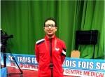 ياسين وائل يفوز بالميدالية البرونزية فى بطولة أفريقيا للناشئين لتنس الطاولة