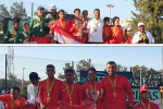 تألق لاعبي سبورتنج مع منتخب مصر للتنس تحت ١٤ و ١٦ سنة