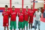 ٥ لاعبين من فريق الأصدقاء مع المنتخب المصري لكرة السلة