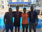 سبورتنج يفوز بالميدالية الفضية فى كأس مصر للسباحة بالزعانف