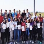 تألق لاعبي سبورتنج ببطولة الجمهورية لألعاب القوى تحت ١٨ سنة
