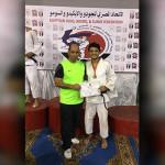 أحمد الفقي يحصد ذهبية بطولة الجمهورية للجودو