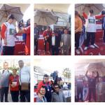 نتائج فريق الأصدقاء ببطولة الأولمبياد المصري لألعاب القوى