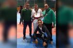 عبد الله وليد يحصل على برونزية بطولة الجمهورية للتايكوندو