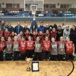 كرة سلة   فريق ١٤ سنة ناشئات يفوز ببطولة منطقة الإسكندرية