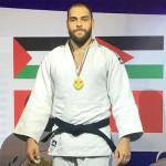 أحمد أيمن عامر يتألق بالبطولة العربية للجودو
