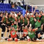 بالصور | فريق سيدات سبورتنج للكرة الطائرة يفوز على الصفاقسي في أولي مباريات الدورة العربية
