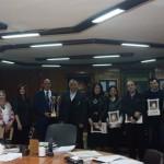 تكريم أبطال ألعاب القوى لحصولهم على المركز الأول لبطولات منطقة الإسكندرية