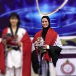 تايكوندو   نور حسين تفوز بالذهبية وتتأهل إلى أولمبياد طوكيو