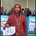 عبد الرحمن رمضان يحرز برونزية بطولة الجمهورية للكاراتيه تحت ١٥ سنة