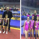7 ميداليات ذهبية حصيلة سبورتنج فى بطولة الجمهورية لجمباز الترمبولين
