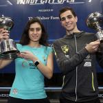 نور الشربيني تحصد لقب بطولة  Windy City Open 2020