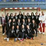 فريق اليد ٢٠٠٢ ناشئات ثالث بطولة كأس مصر