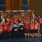 فريق اليد ٢٠٠٤ ناشئات ثالث بطولة الدوري الجمهورية