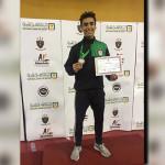 ياسين ماضي يحرز برونزية بطولة كأس مصر للسلاح تحت ١٧ سنة