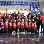 سيدات سبورتنج أبطال كأس مصر لكرة اليد