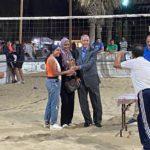 فريق آنسات سبورتنج ثالث بطولة الجمهورية للكرة الطائرة الشاطئية
