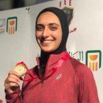 سارة نونو أول كأس مصر في سلاح سيف المبارزة