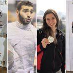 نتائج متميزة للاعبي سبورتنج ببطولة كأس مصر للسلاح