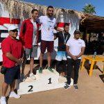 مروان العمراوي يفوز بسباق بطولة الجمهورية لسباحة المسافات الطويلة