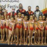 13 ذهبية و 2 فضية و برونزية حصيلة سبورتنج في بطولة كأس مصر للجمباز