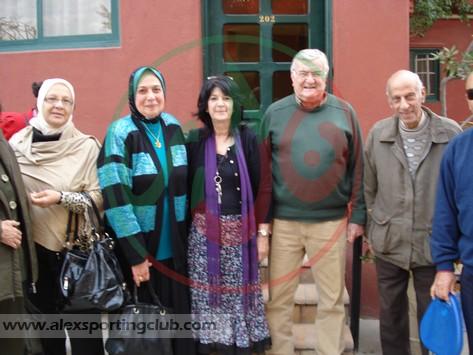 رحلة لجنة الرواد الى دير ماري مينا - 26-2-2013