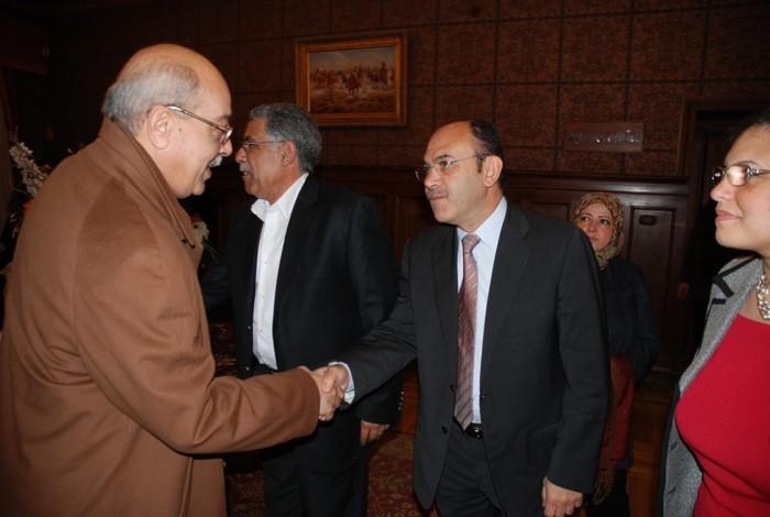 ندوة مدير أمن الإسكندرية 29-3-2011  - إدارة النادي