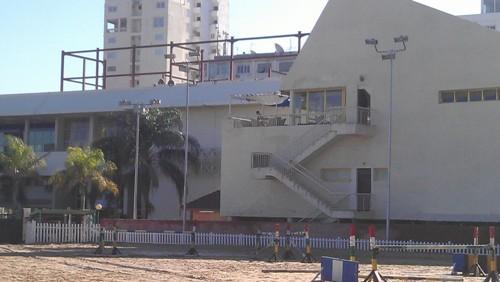 سطح مبنى الاسكواش و انشاء جيم - قبل