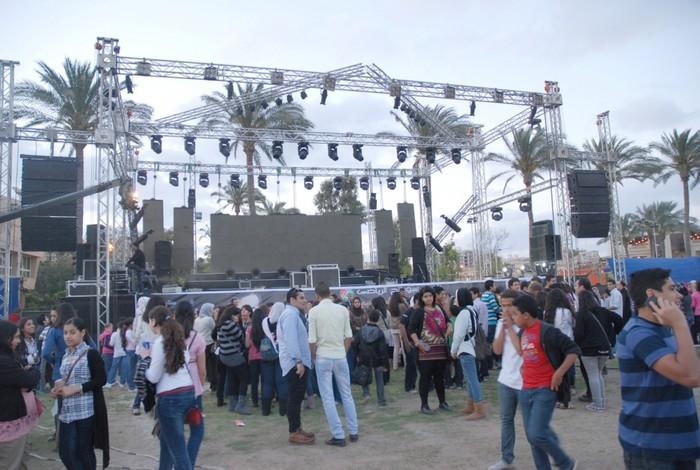 حفل هيثم شاكر و مى سليم 24-4-2011 - لجنة الحفلات